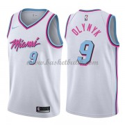 Miami Heat Basket Tröja 2018 Kelly Olynyk 9# City Edition..